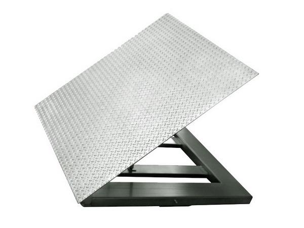 花纹台面不锈钢地磅