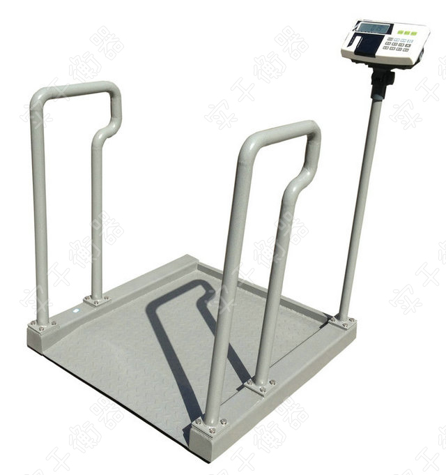 带斜坡轮椅电子秤图片