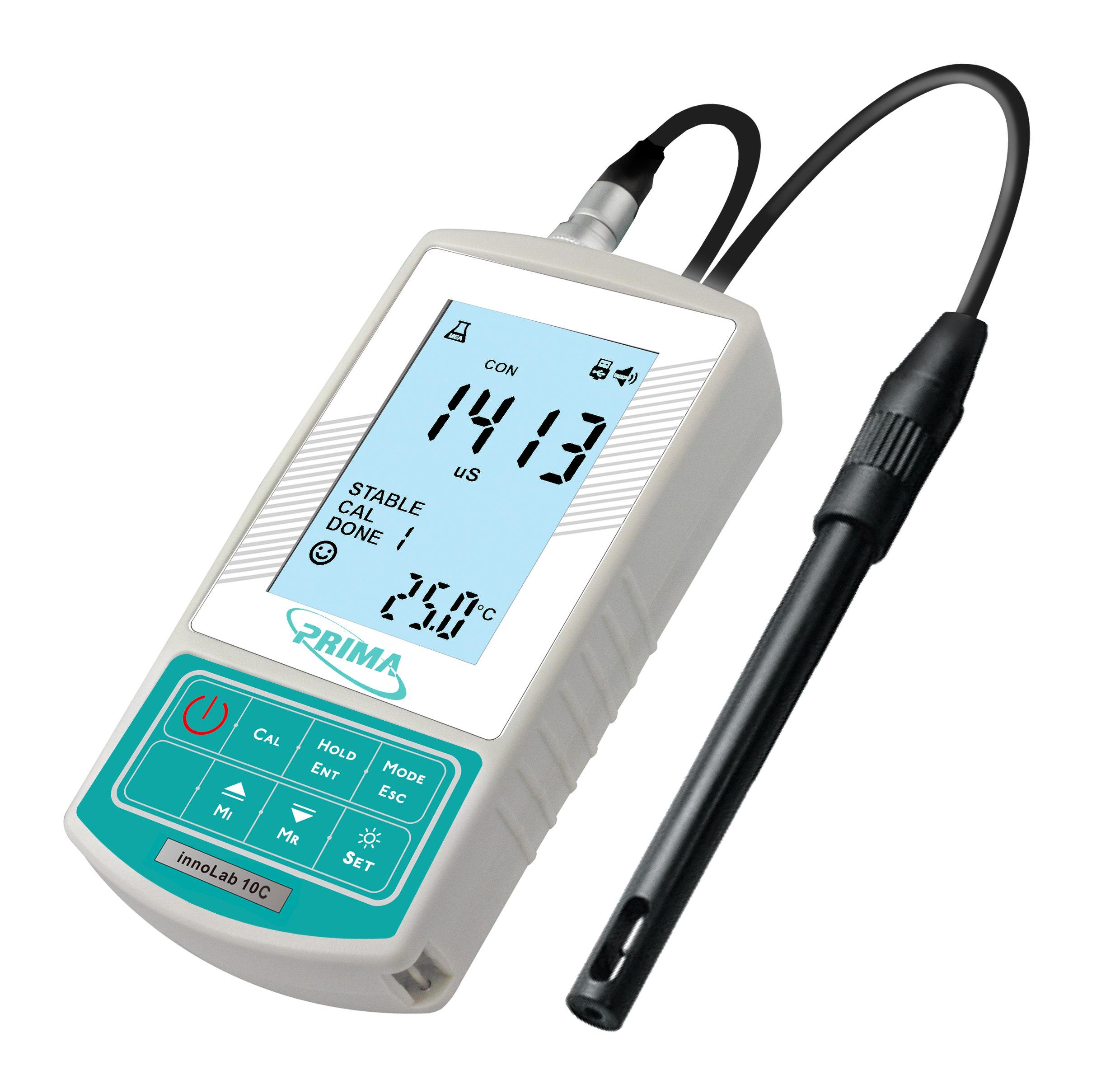 普律玛便携式电导率仪innoLab 10C