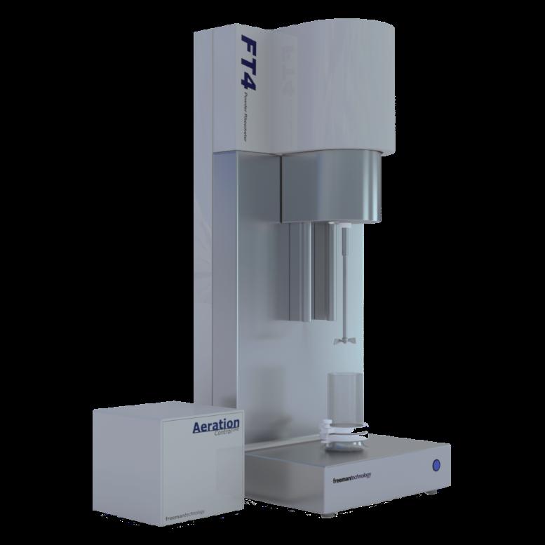 使用富瑞曼科技的FT4粉体流变仪TM优化粉体加工过程