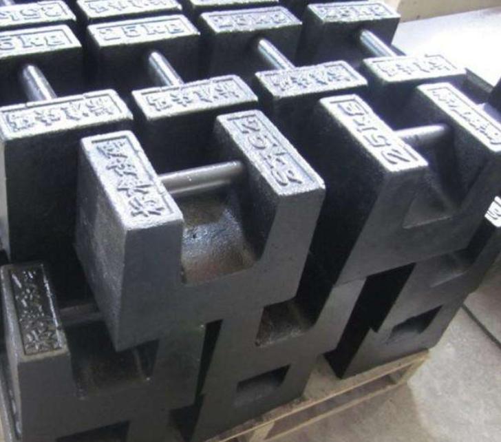 25千克电梯铸铁砝码