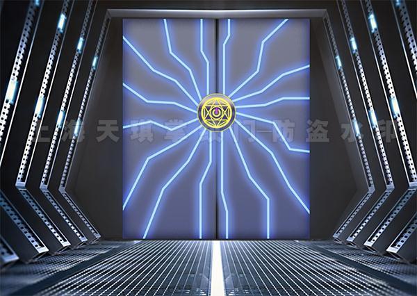 智能科技科幻门