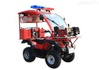 四轮消防摩托车