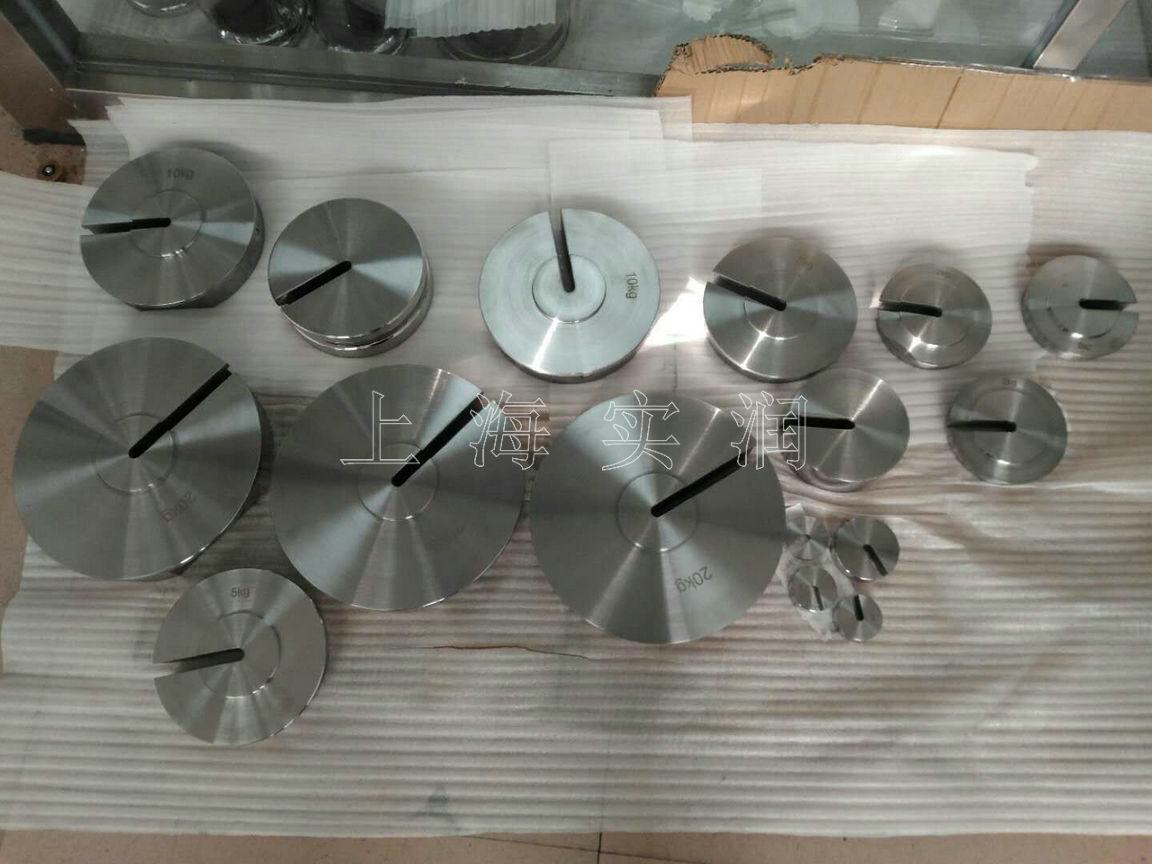 不锈钢增坨砝码1kg-20kg