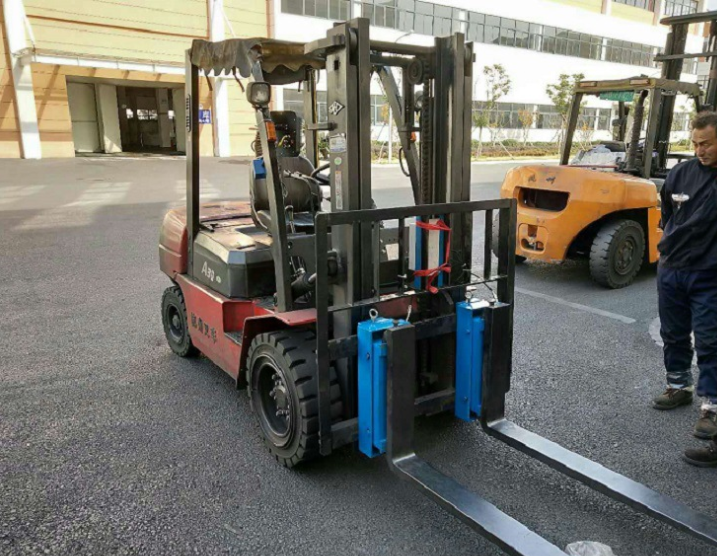 叉車加裝稱重係統