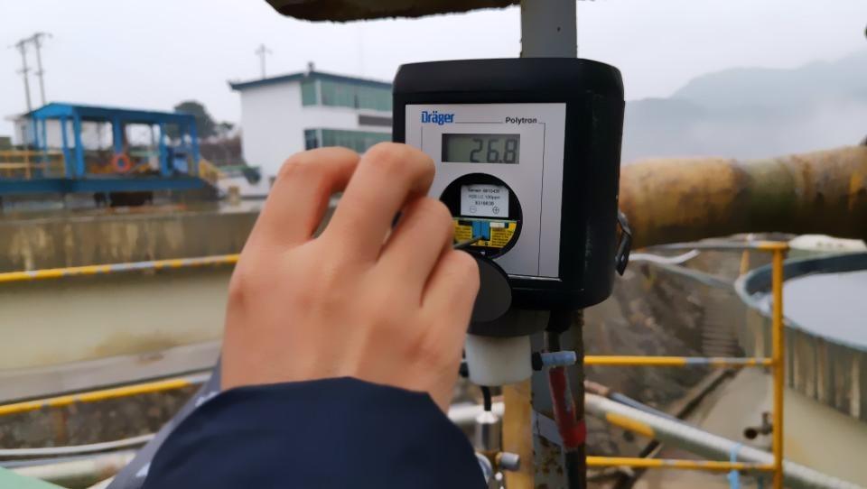 德尔格固定式气体检测仪标定
