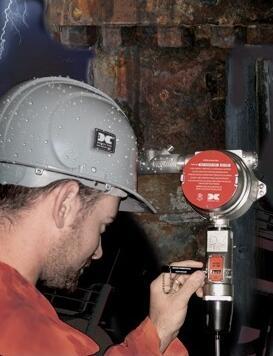 华瑞固定式气体检测仪标定