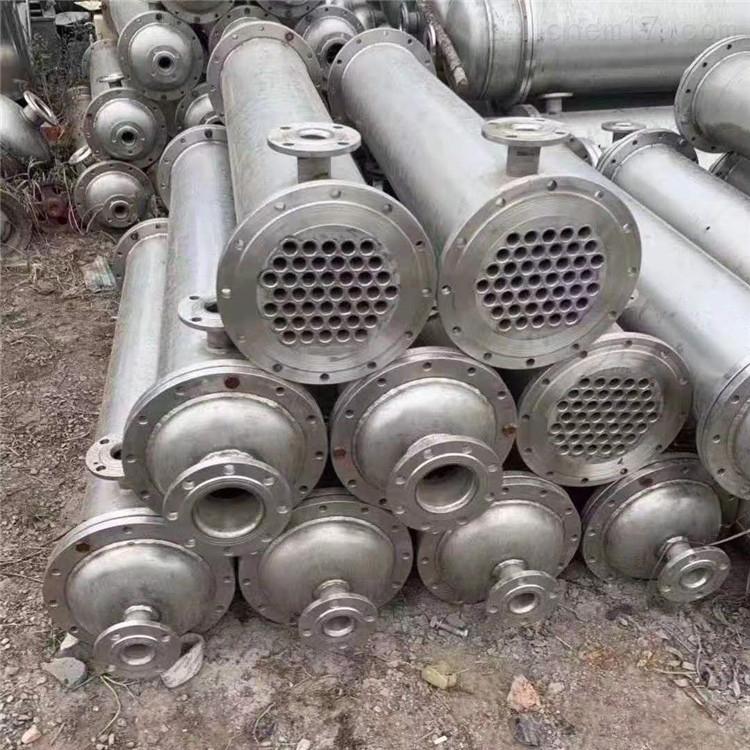 二手不锈钢列管冷凝器-3