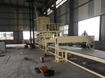 砂漿巖棉復合板設備