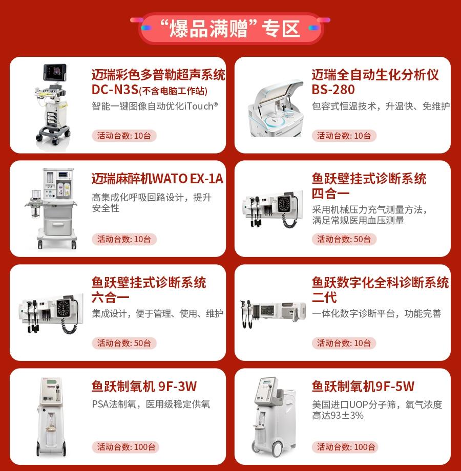 618医疗器械狂欢节产品